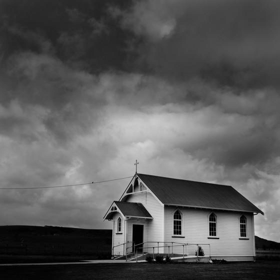 Taranaki rural church