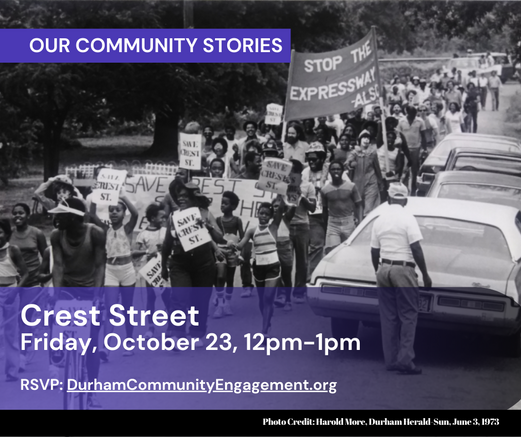 Crest Street, 10.23.20, Our Community St