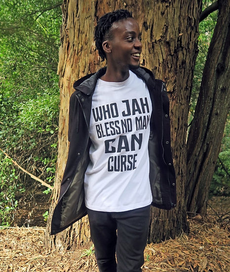 Who JAH Bless T-shirt
