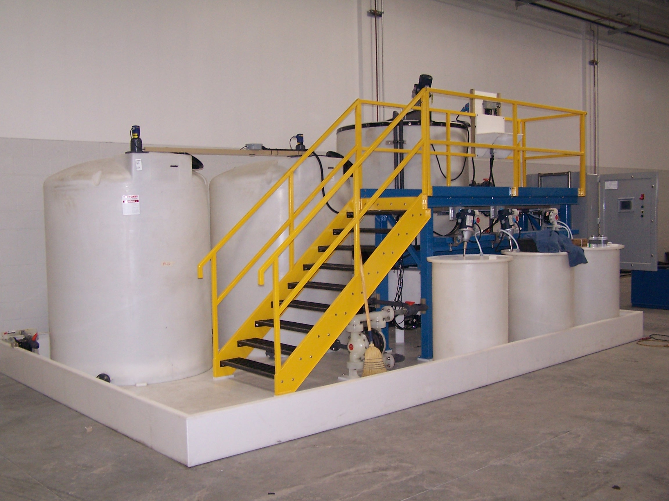 Corrotec Custom Waste Water Treatment System