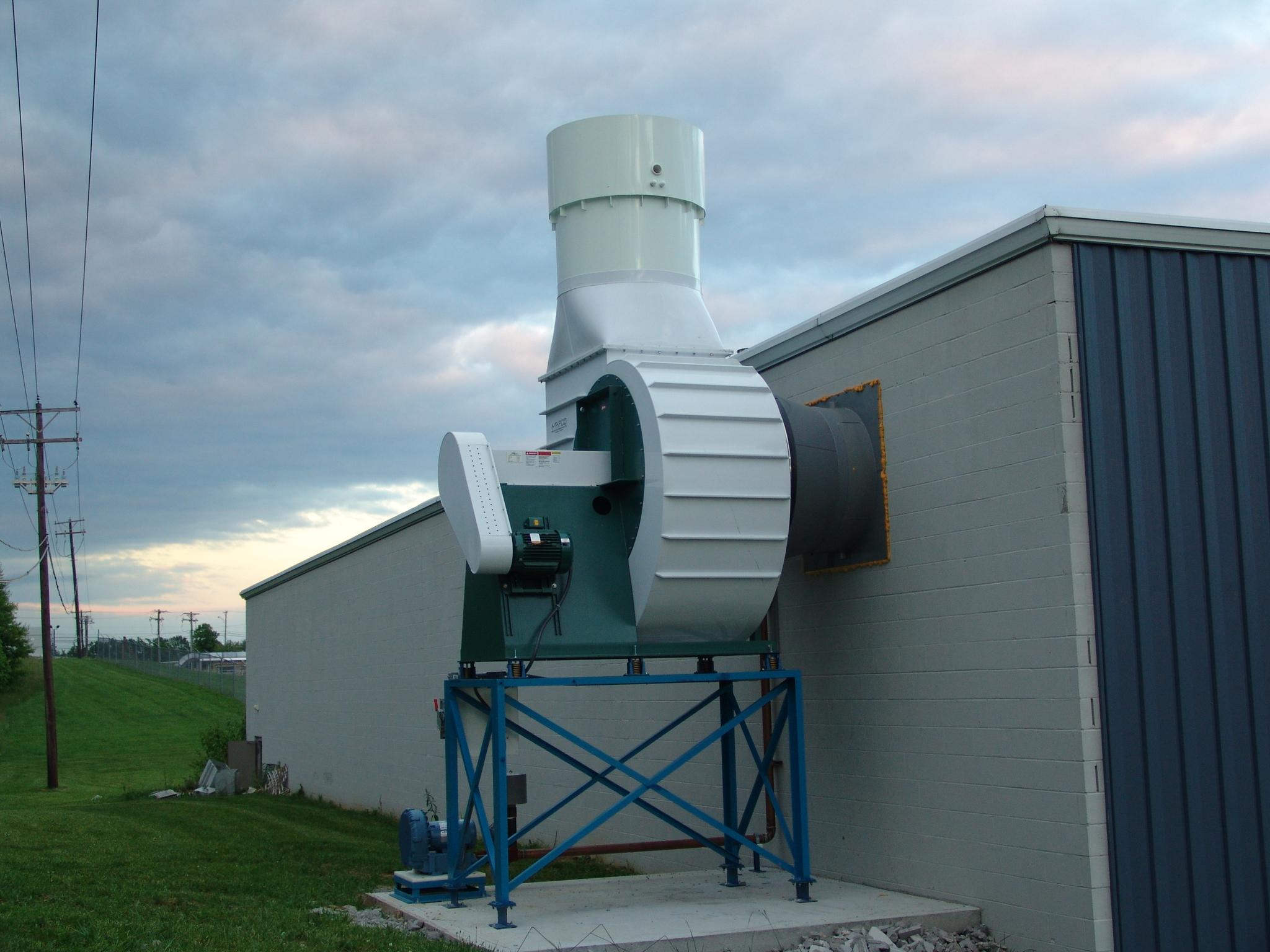 Corrotec Custom Sized Ventilation