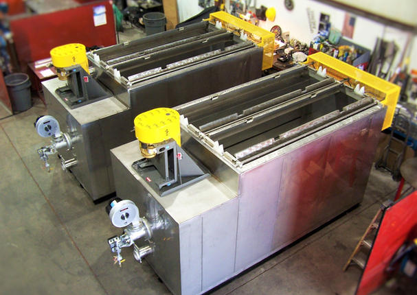 Corrotec Surface Finishing Part Dryer