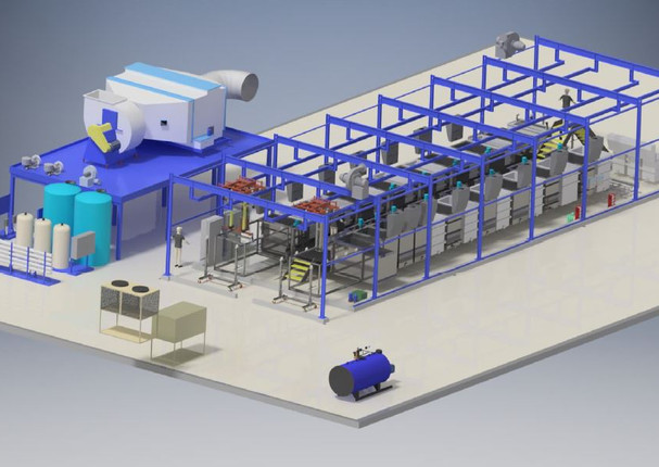 Rendered Corrotec Surface Finishing System