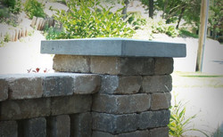 patio stone pillar