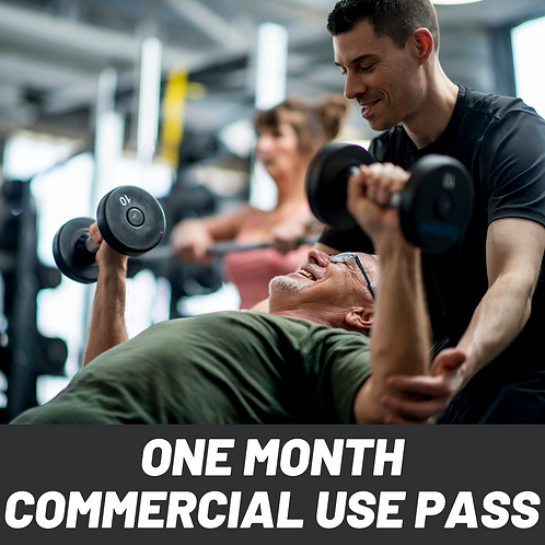 1 Month Commercial Use Pass
