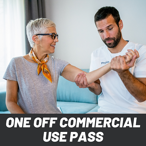 One Off Commercial Use Pass