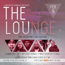 The Lounge Event Flyer