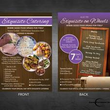 Exquisite Catering Flyer