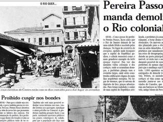 HISTÓRIAS DA PEQUENA ÁFRICA - A Reforma Urbana de Pereira Passos