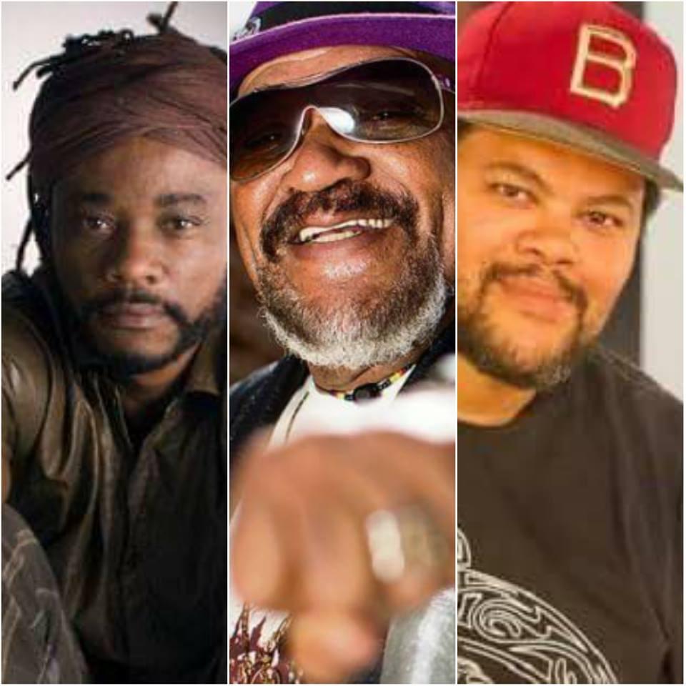 Na sequência: Da Ghama, Gerson King Combo e Babu Santana.