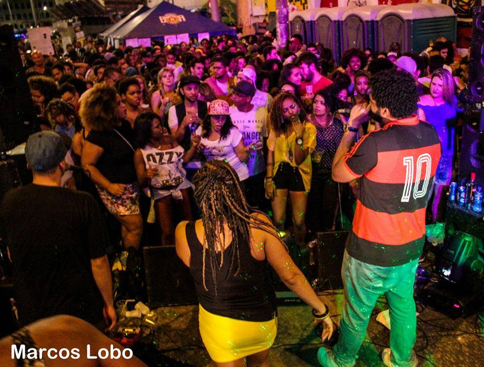Baile Black Bom na Pedra do Sal