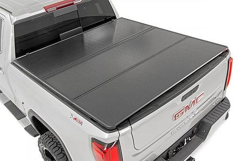 "GM HARD TRI-FOLD BED COVER (2019-2020 1500 PU - 5' 8"" BED)"