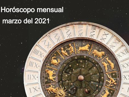Horóscopo mensual gratuito, marzo 2021