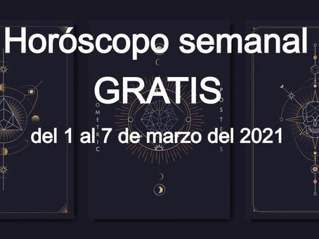 Valentina Demar, horóscopo free del 1 al 7 de marzo 2021