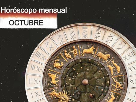 Horóscopo mensual gratuito, octubre 2021