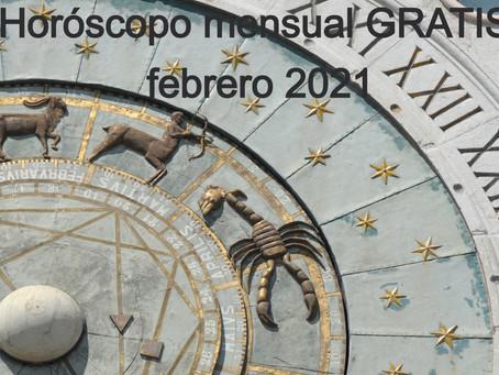 Horóscopo mensual gratuito, febrero 2021