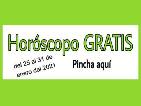Horóscopo del 25 al 31 de enero 2021 Tararot y videncia semanal
