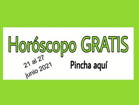 Horóscopo del 21 al 27 de JUNIO 2021 Tarot y videncia semanal