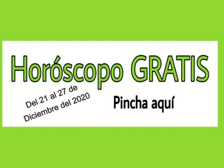 Horóscopo del 21 al 27 de diciembre 2020 Tararot y videncia semanal