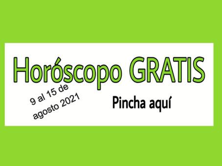 Horóscopo del 9 al 15 de agosto 2021 Tarot y videncia semanal