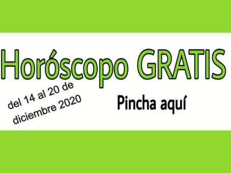 Horóscopo del 14 al 20 de diciembre 2020 Tararot y videncia semanal