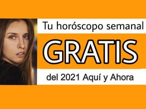 Horóscopo GRATIS SEMANAL 2021