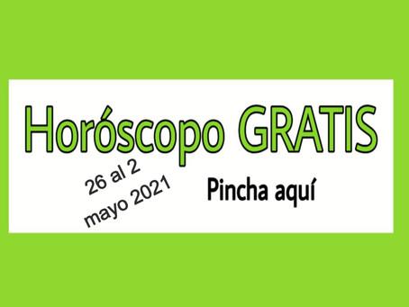 Horóscopo del 26 al 2 de mayo 2021 Tarot y videncia semanal