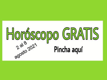 Horóscopo del 2 al 8 de agosto 2021 Tarot y videncia semanal