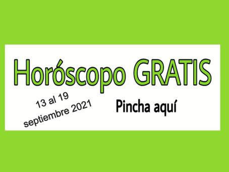 Horóscopo del 13 al 19 de septiembre 2021 Tarot y videncia semanal