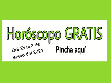 Horóscopo del 28 al 3 de enero 2021 Tararot y videncia semanal