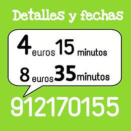 1 tarot y videncia 4 euros 15 minutos y