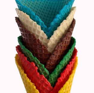 vegan waffle cone ice cream lick holmfirth