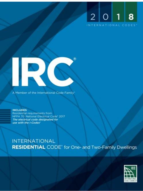 (IRC)2018 International Residential Code®