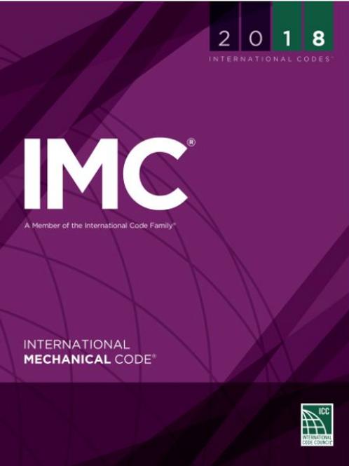 (IMC) 2018 International Mechanical Code®