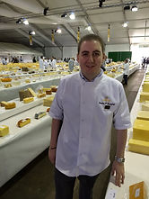 The Cheesy1 judging at the International Cheese Awards.