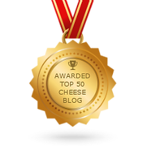 The Cheesy1.blog was awarded top 50 cheese blog in the world.