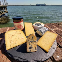 The Local cheese box available from Harveys of Hythe.