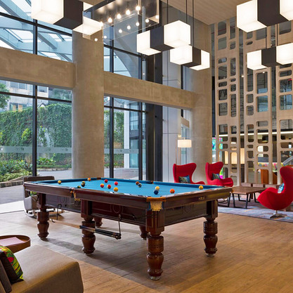 Aloft Hotel Lobby
