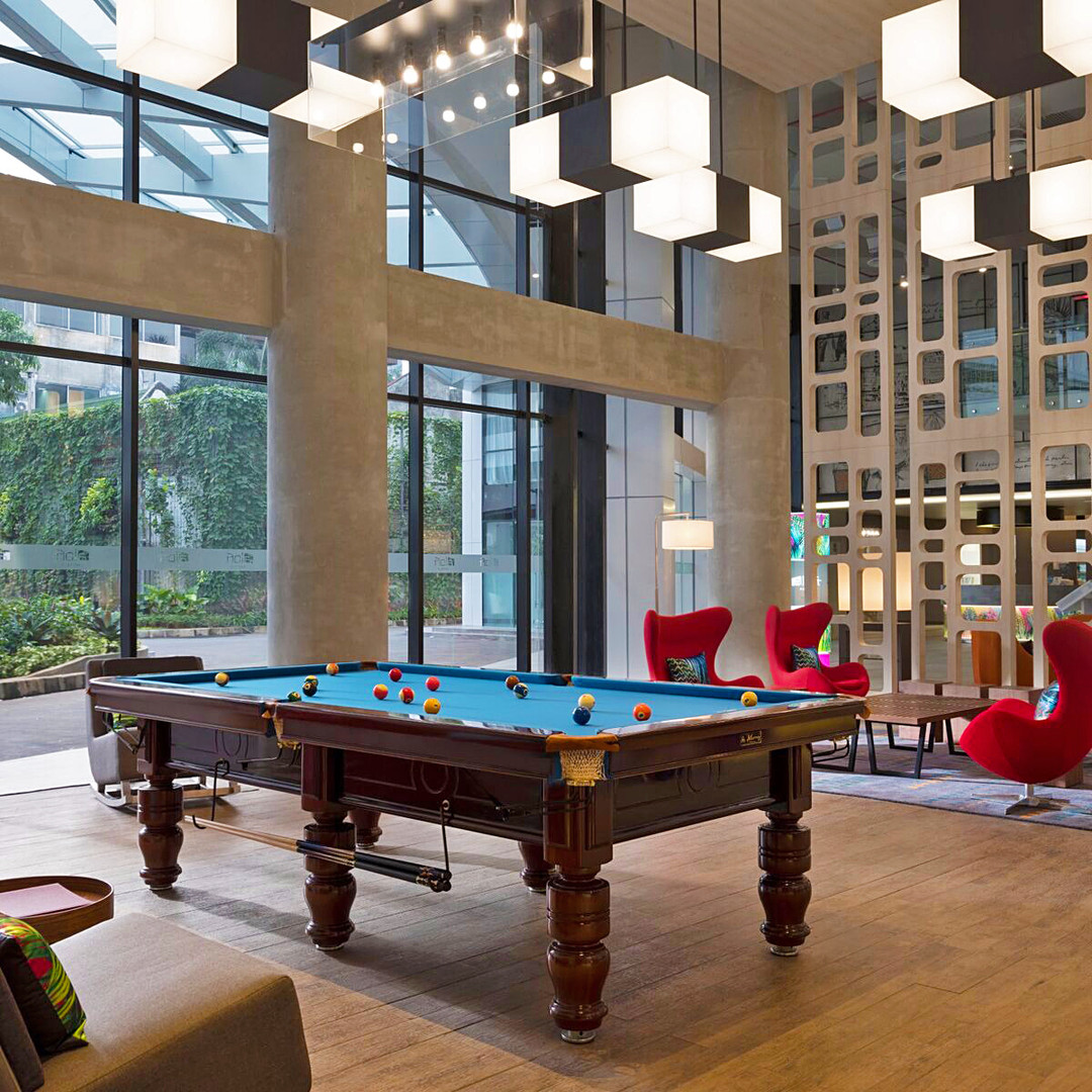 Aloft Hotel Lounge