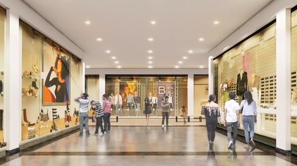 Indramayu Mall Store Walk