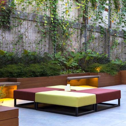 Aloft Hotel Outdoor Lounge