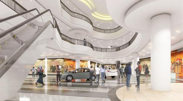 Indramayu Mall Atrium