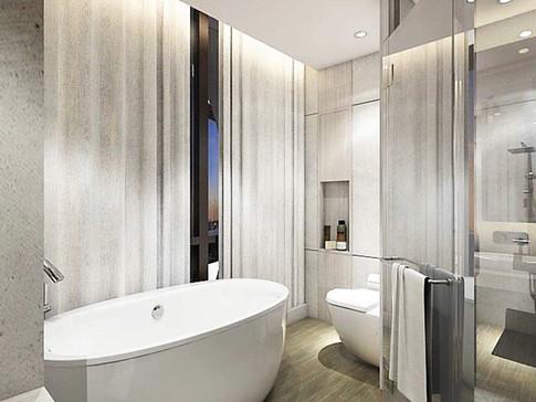 Keraton Apartment Bathroom