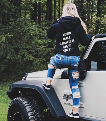 Your MAll Crawler Ain't Shit Hoodie