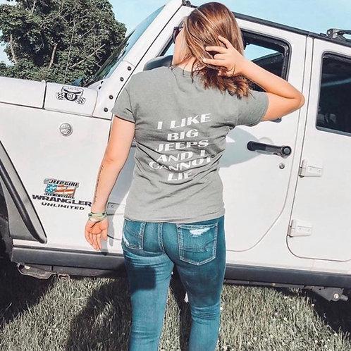 I Like Big Jeeps & I Cannot Lie Tee