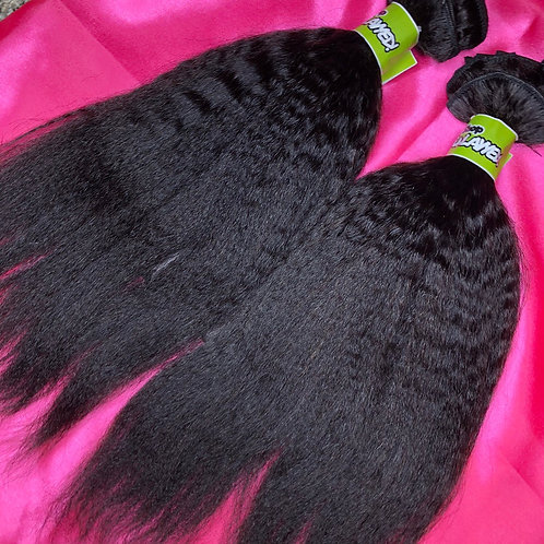 Shop Suhlayyed Kinky Straight Clip Ins