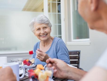 Separamos 5 dicas para manter uma alimentação saudável na terceira idade