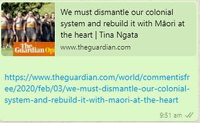 Maori Independence the Heart of Aotearoa