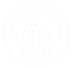 FoodRight Submark Logo White