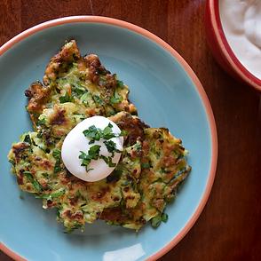 FoodRight's Zucchini Fritters Recipe
